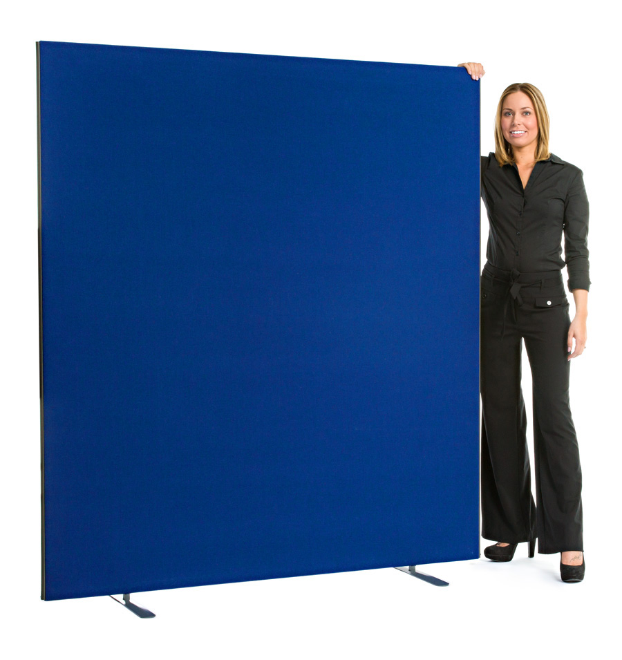Speedy Office Screens 1800mm High Partition Blue