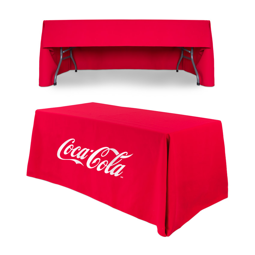 Exhibition Stand Tablecloths : Printed tablecloth exhibition pull up banner 48hr uk dispatch