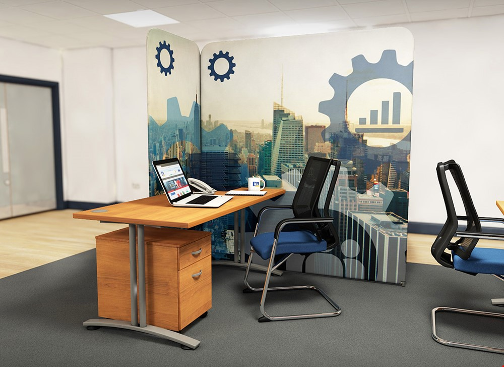 Printed Office Partitions