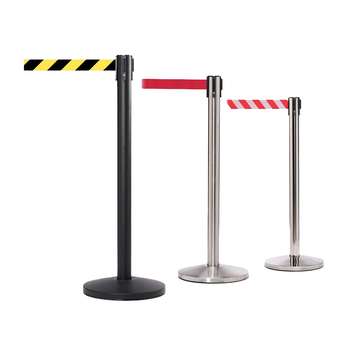 QueueMaster Retractable Belt Barriers