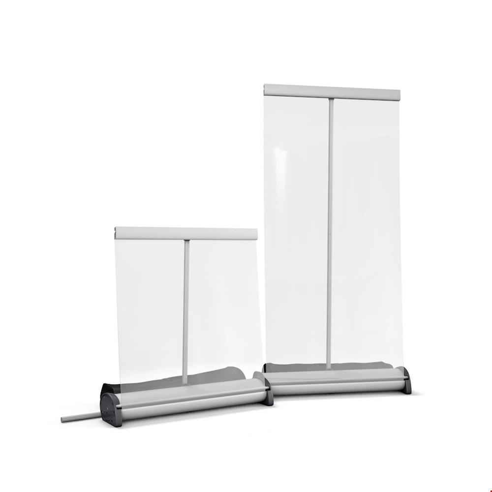 Retractable Sneeze Guard Protective Counter Screen