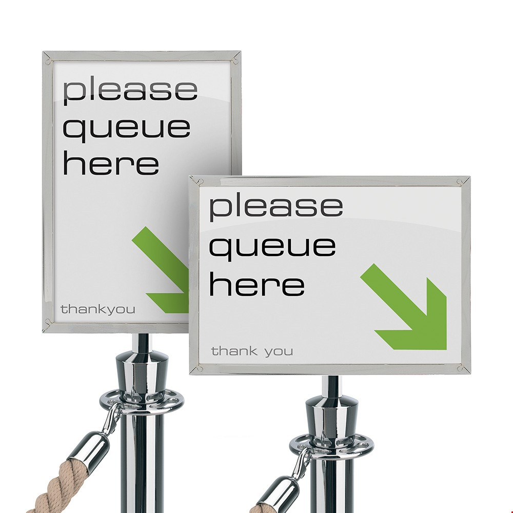 Tensator<sup>®</sup> Rope And Post Sign Holder