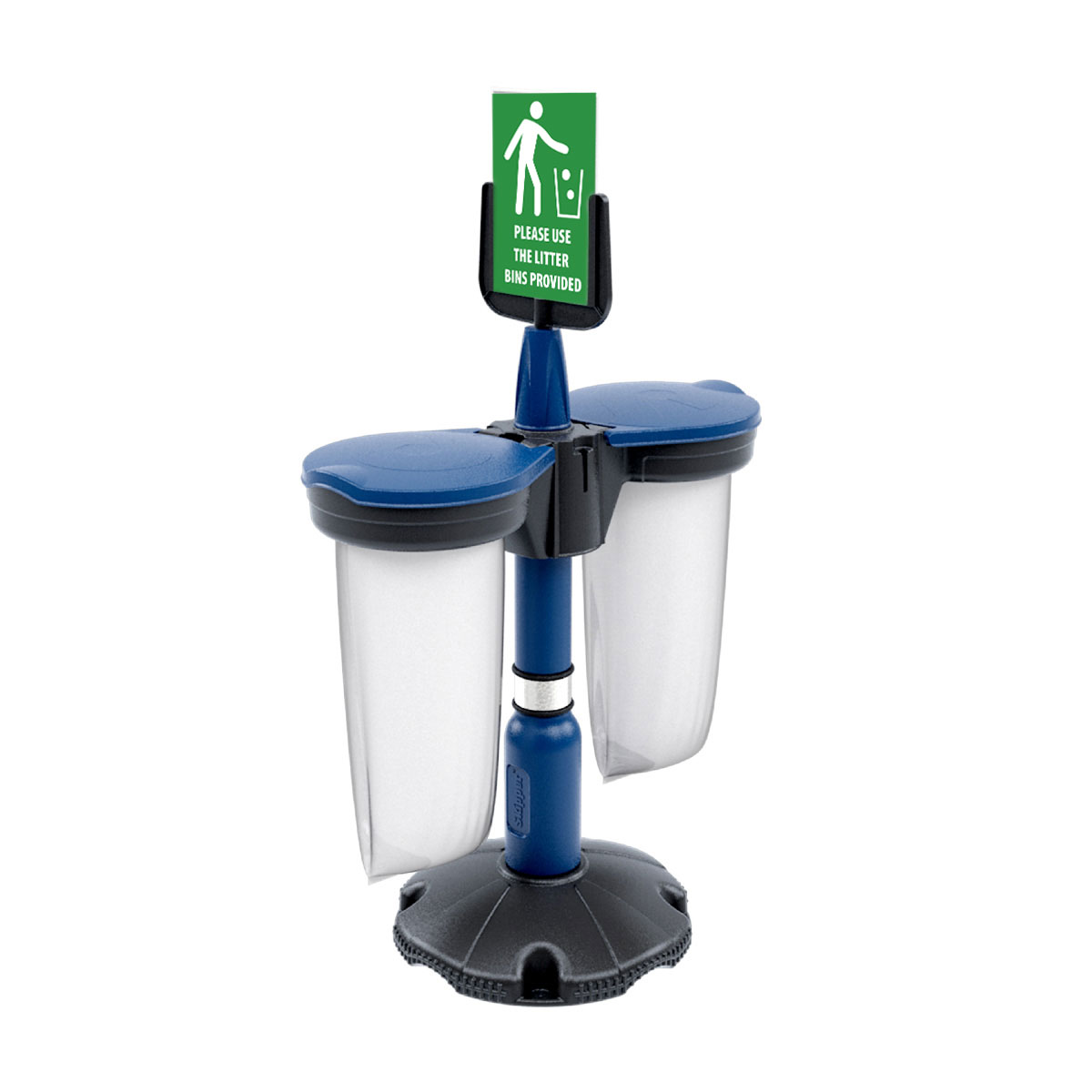 Skipper<sup>™</sup> Safety Station With 2x Recycling Bins