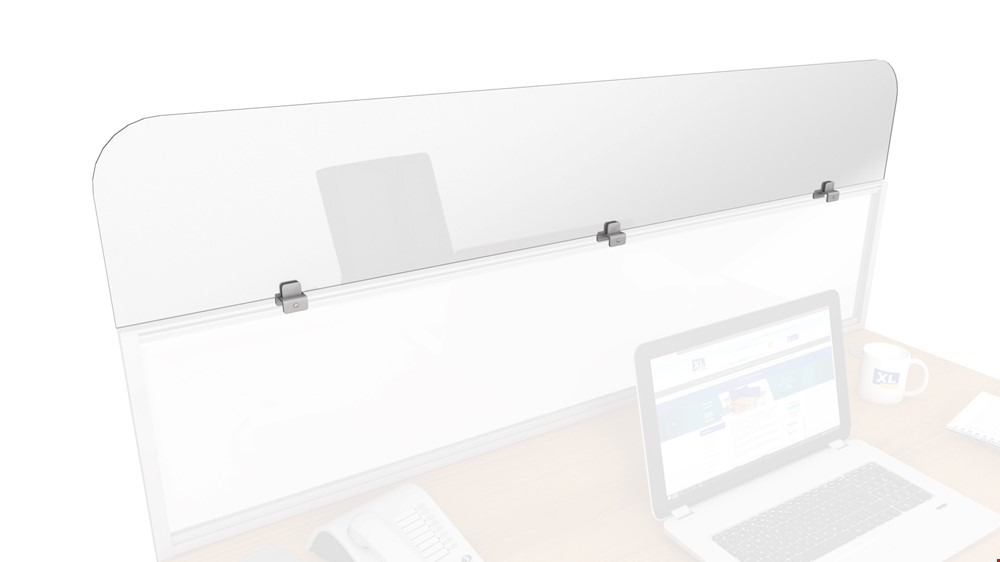 Sneeze Guard Clear Perspex Divider