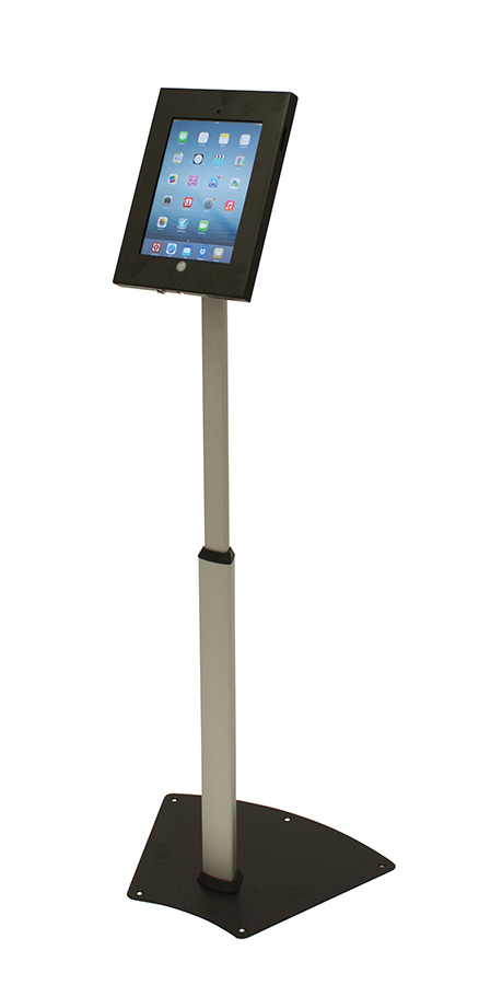 Telescopic iPad Floor Stand