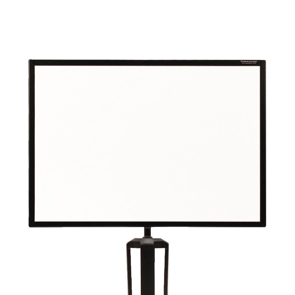 Tensabarrier<sup>®</sup> Retractable Queue Barrier Sign Holder