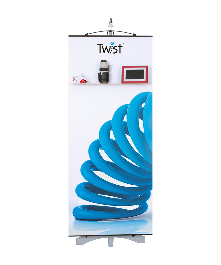 Twist Banner Shelf