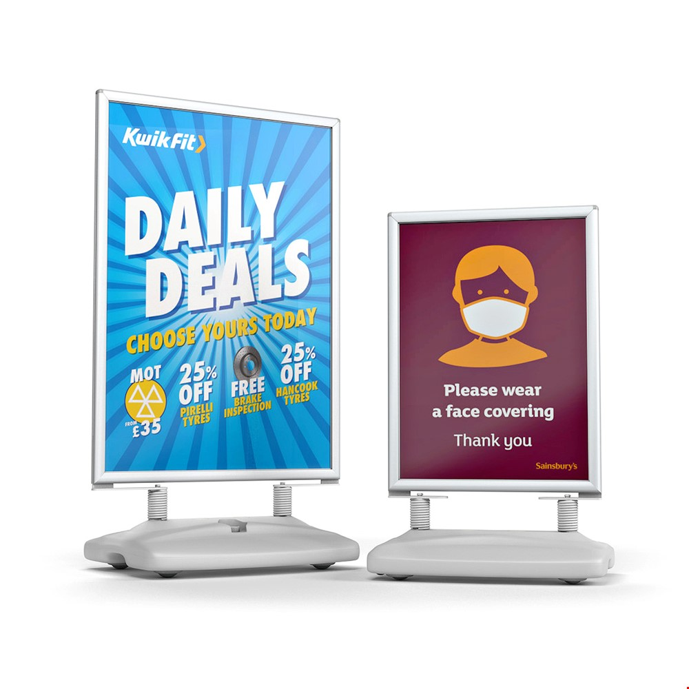 WINDSTORM™ PRO Pavement Sign Advertising Board