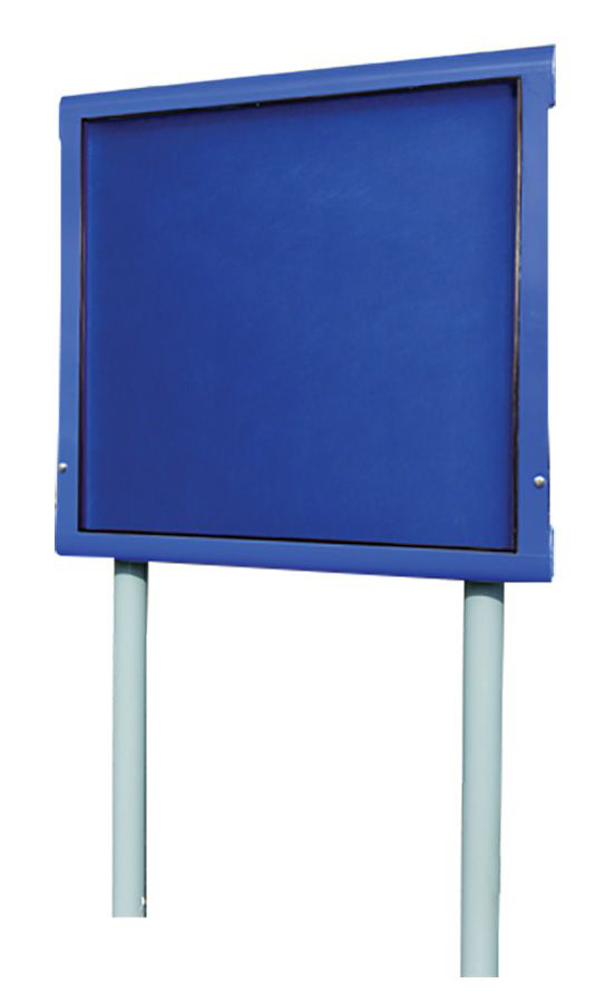 WeatherShield Freestanding Lockable External Showcase