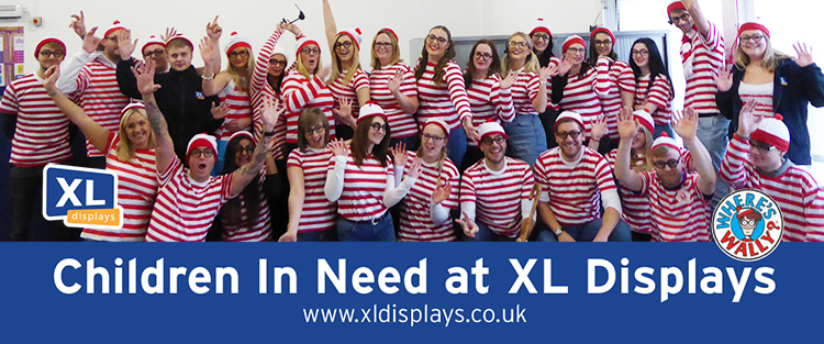 Children in Need Fun-draising at XL Displays