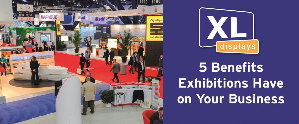 5 Benefits Exhibitions Have on Your Business
