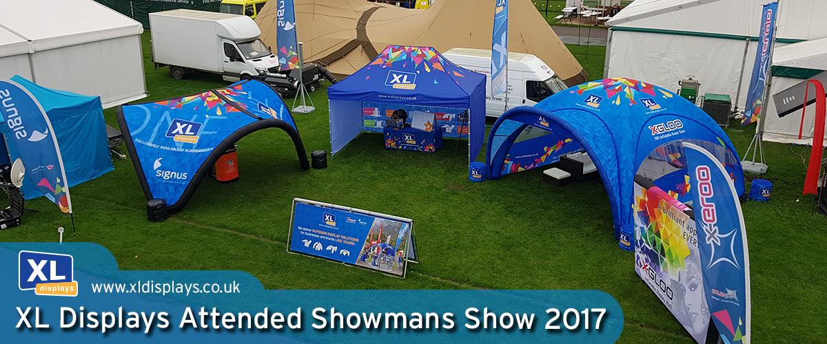 XL Displays Exhibited at The Showman's Show 2017