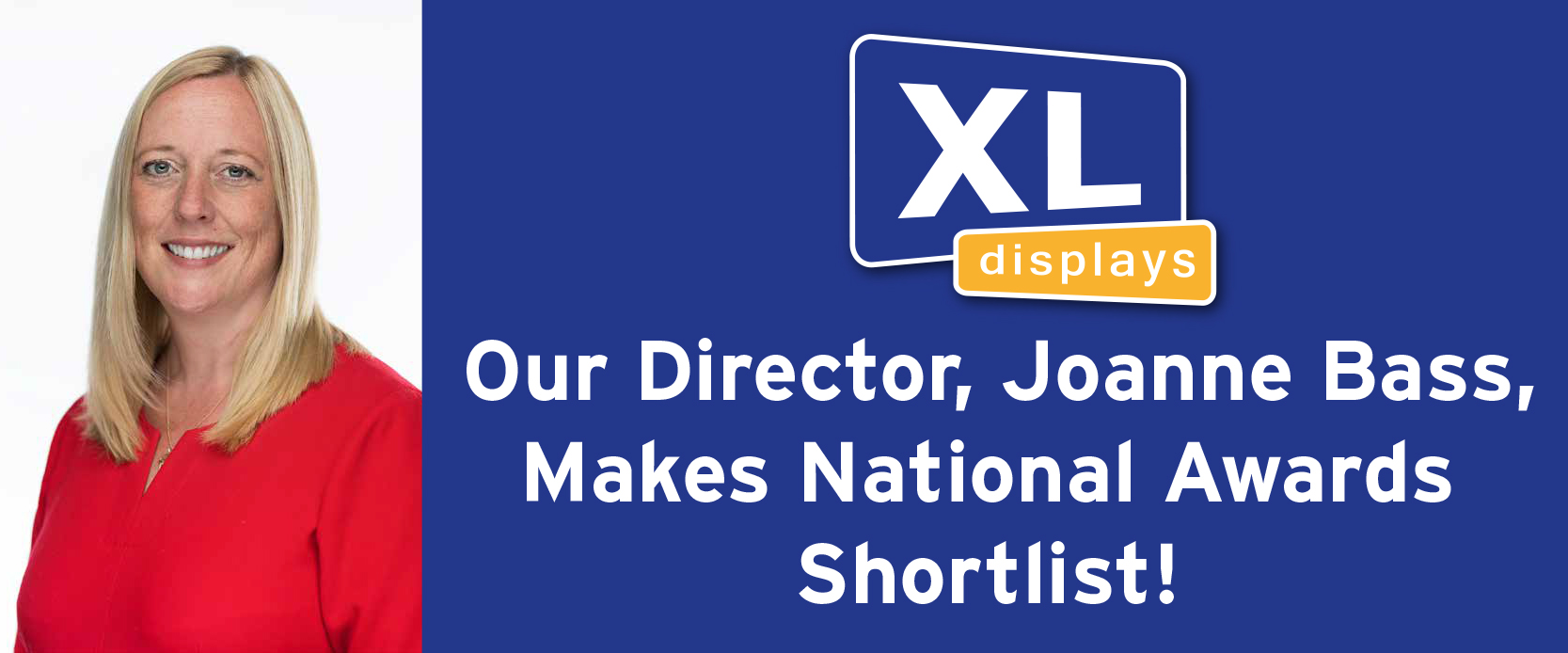Our Director, Joanne Bass, Makes National Awards Shortlist!