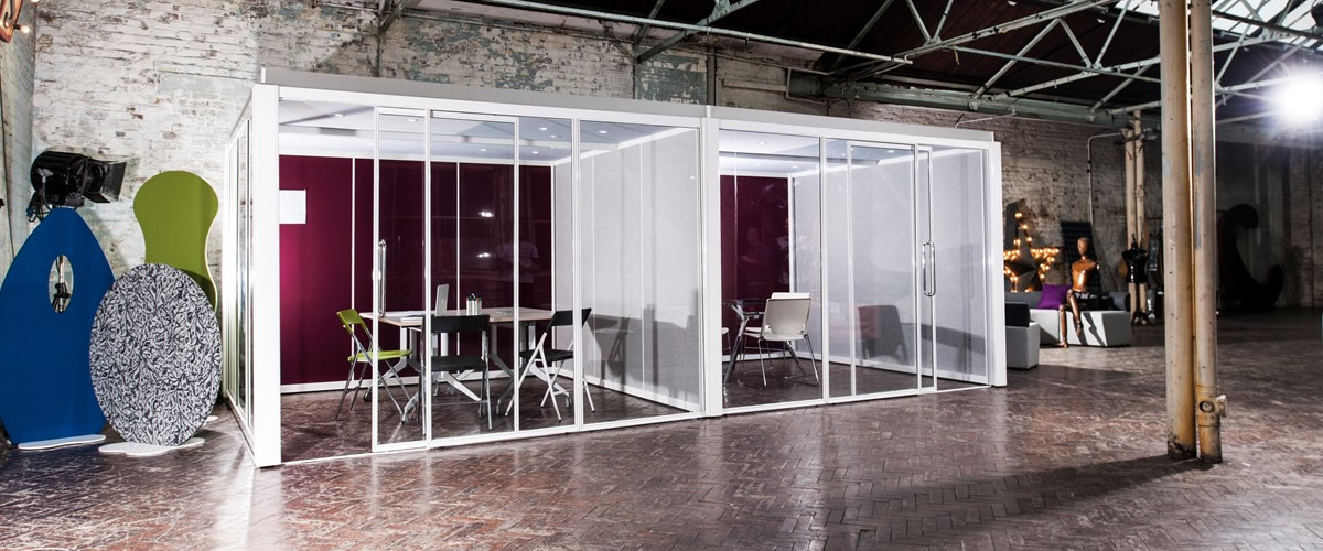 Glass Office Pods – Changing The Open Plan Office