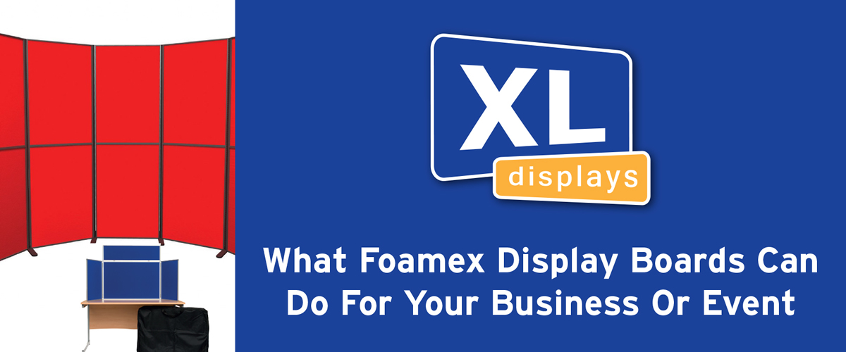 What Foamex Display Boards Can Do For Your Business Or Event