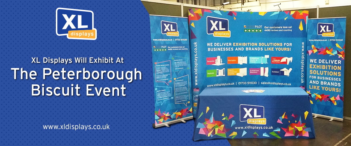XL Displays Will Exhibit At The Peterborough Biscuit Event For The Second Year Running