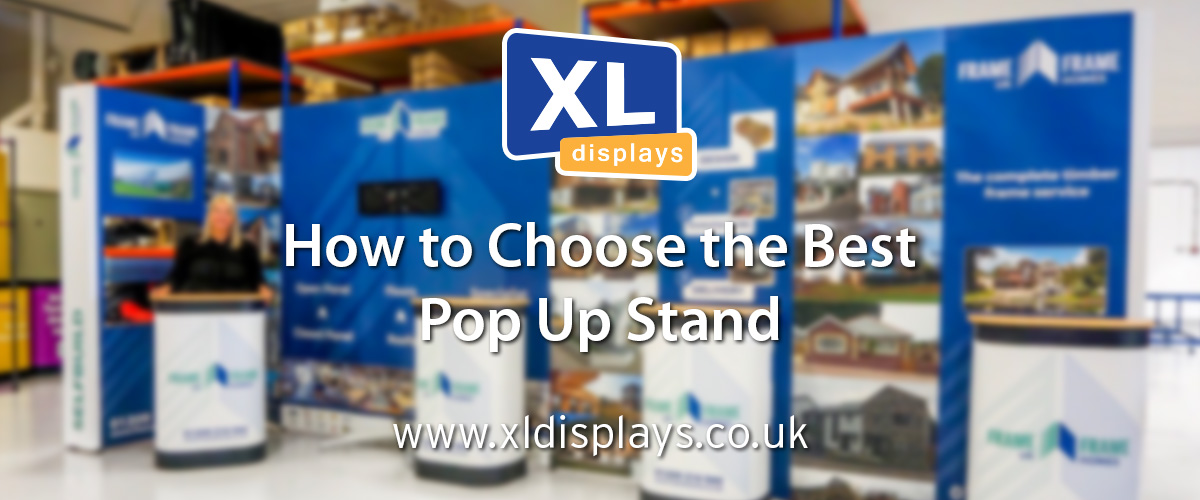 How to Choose the Best Pop Up Stand