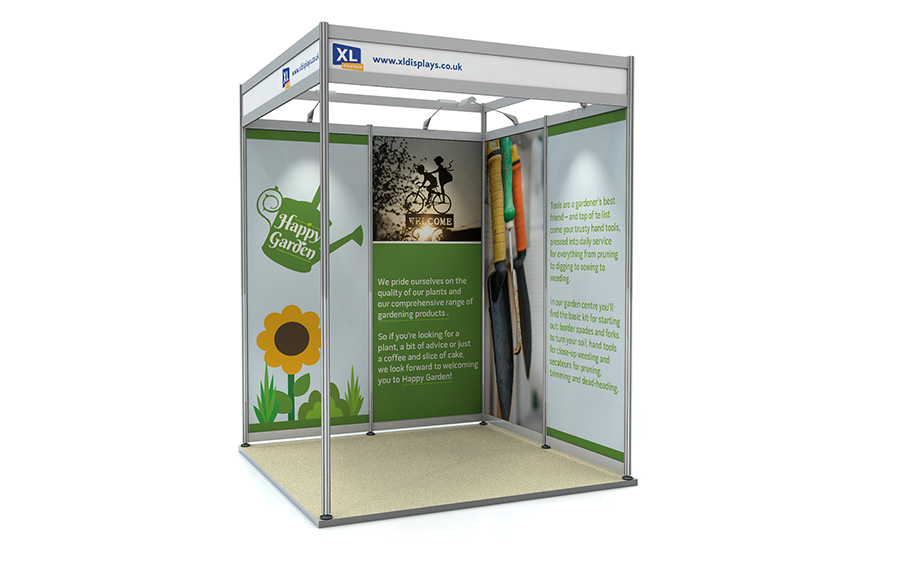 Exhibition Shell Scheme Dimensions : Product of the month shell scheme panels