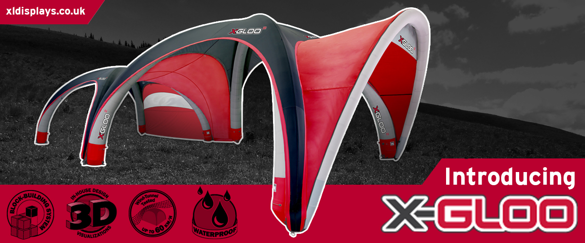 X-GLOO UK Events Tents
