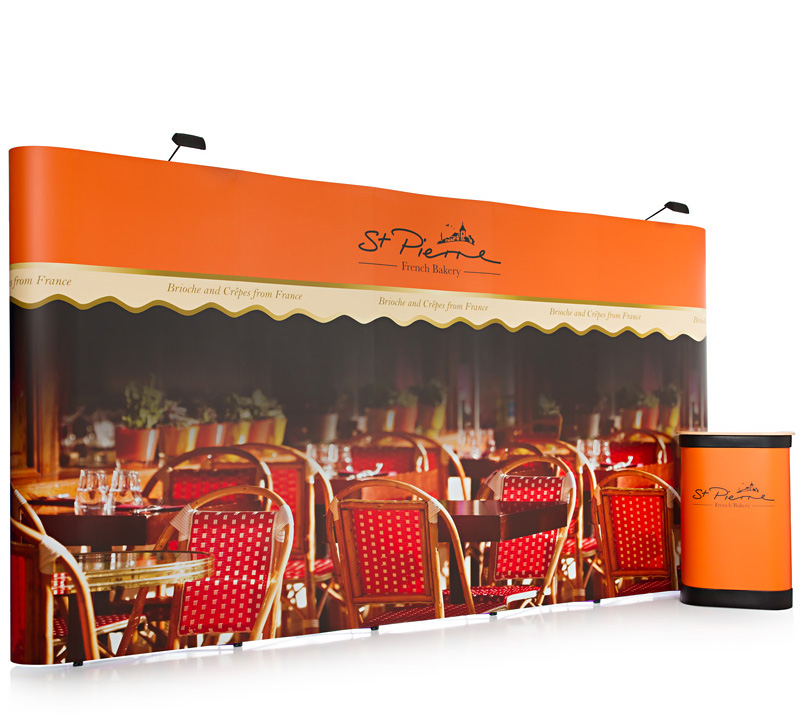 3x5 Pop Up Exhibition Stand
