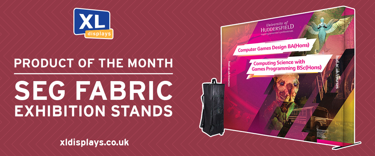 Product of the Month - SEG Fabric Exhibition Stands