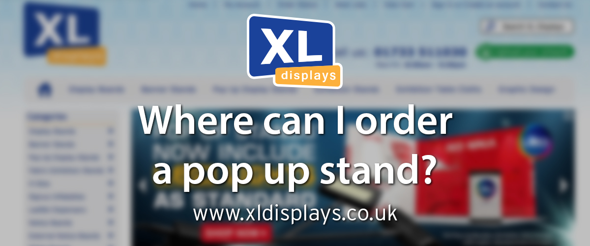 Where Can I Order a Pop Up Stand?