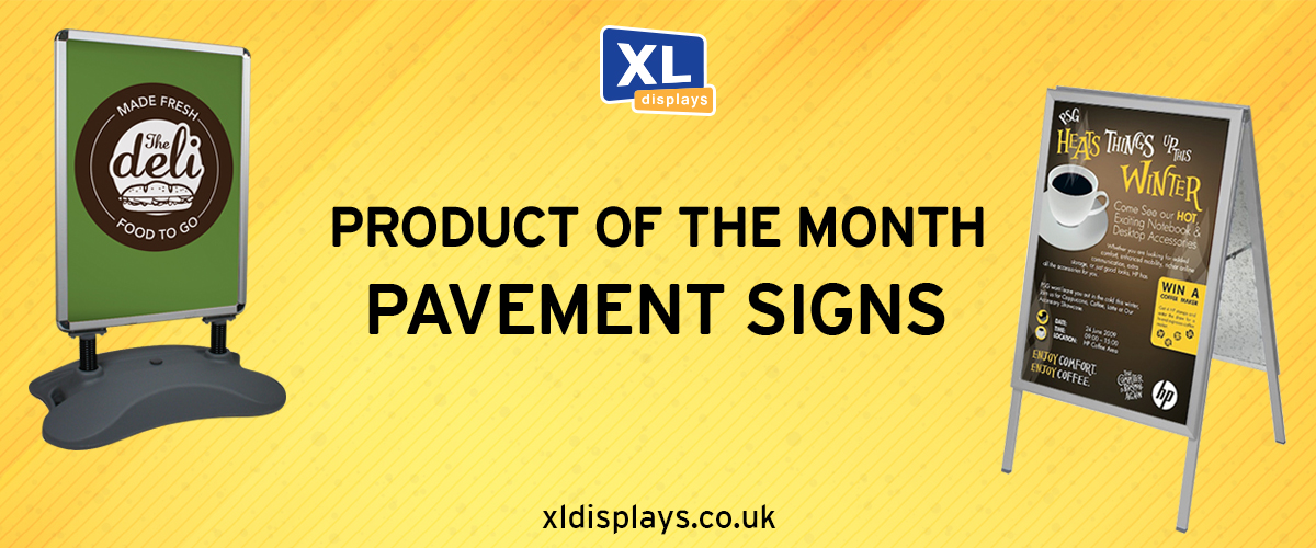 Product of The Month – Forecourt & Pavement Signs