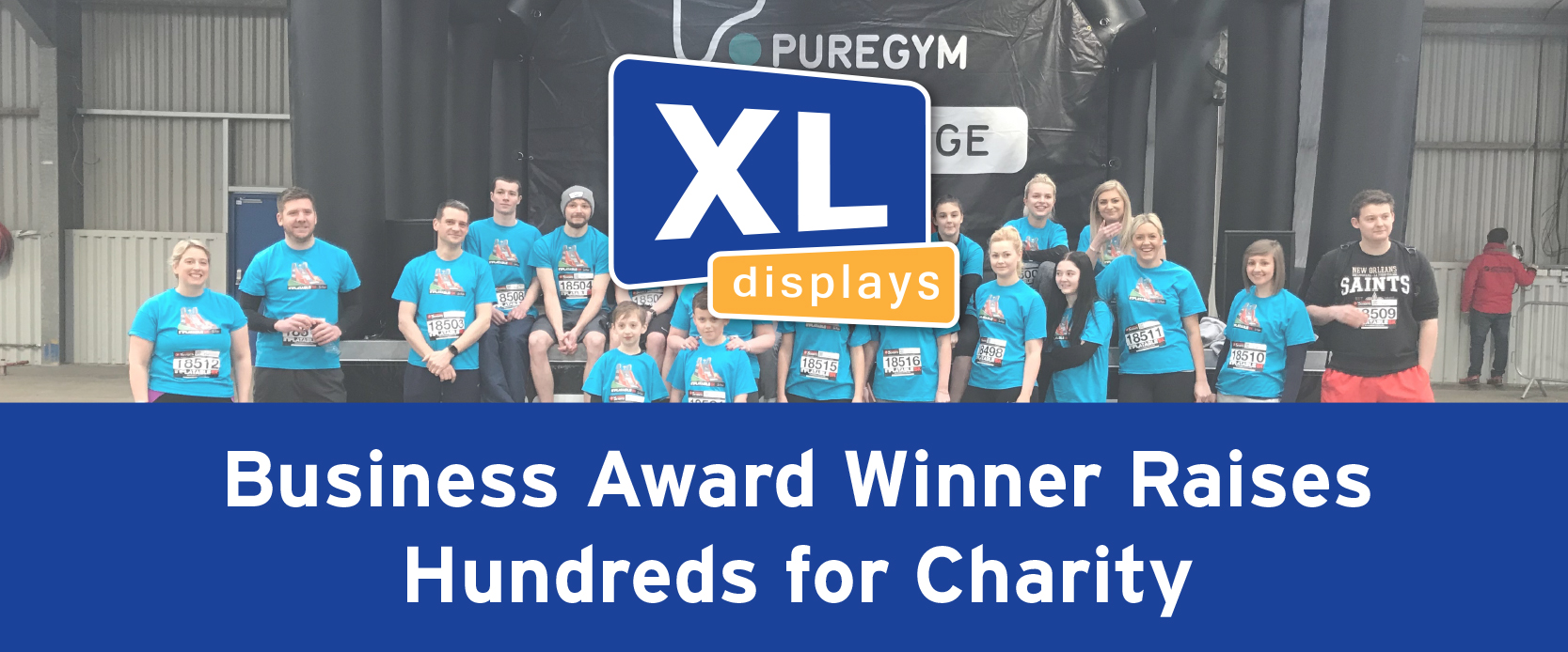 Business Award Winner Raises Hundreds for Charity