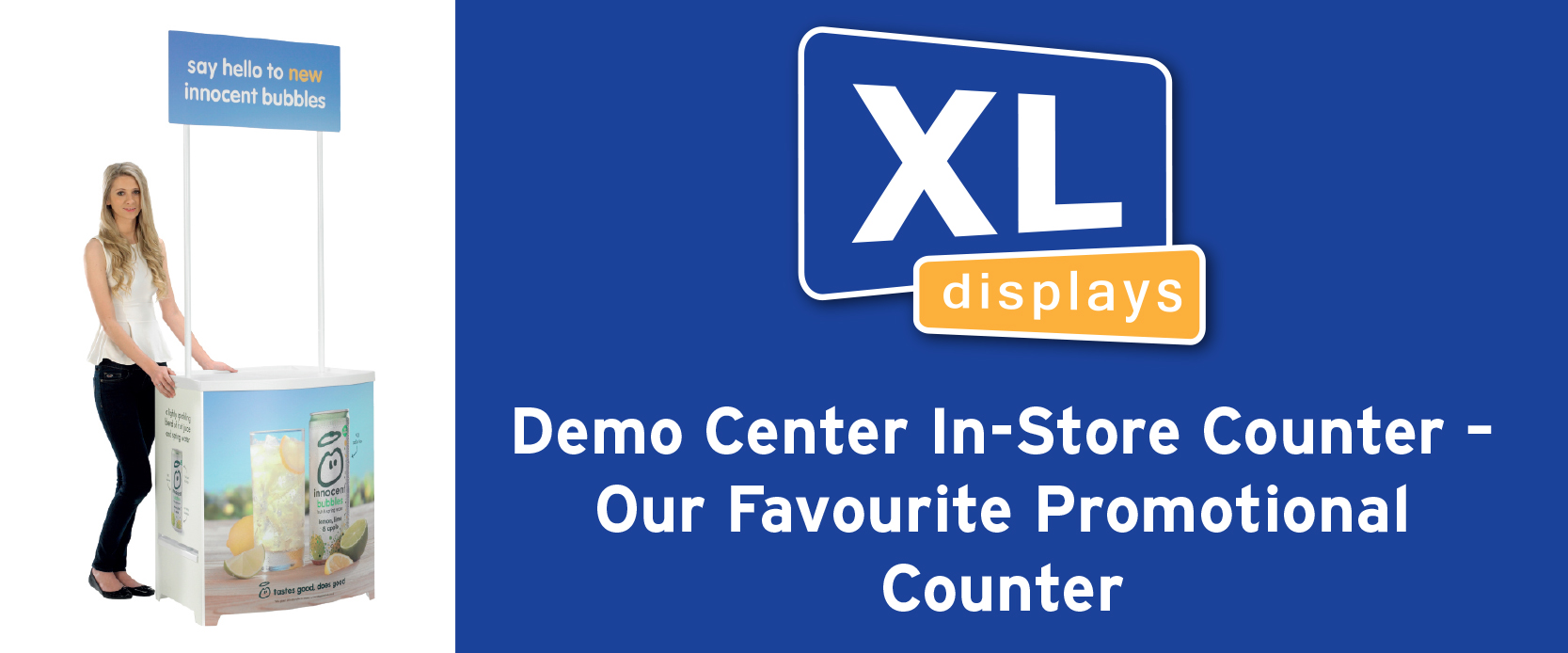 Demo Center In-Store Counter – Our Favourite Promotional Counter