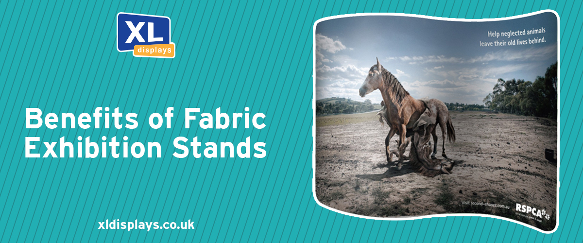 Benefits of Fabric Exhibition Stands