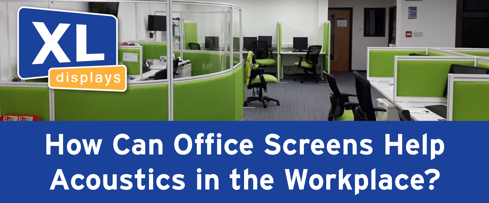 How Can Office Screens Help Acoustics in the Workplace?
