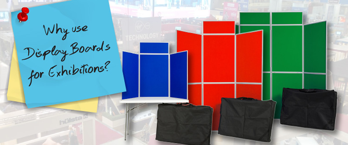 Why Use Display Boards for Exhibitions?