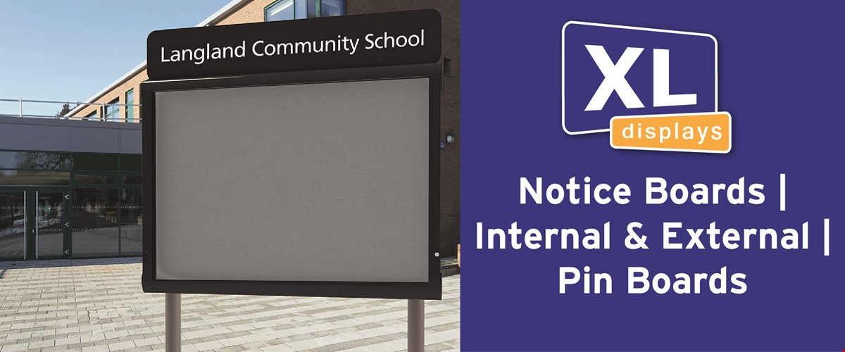 Notice Boards | Internal & External | Pin Boards