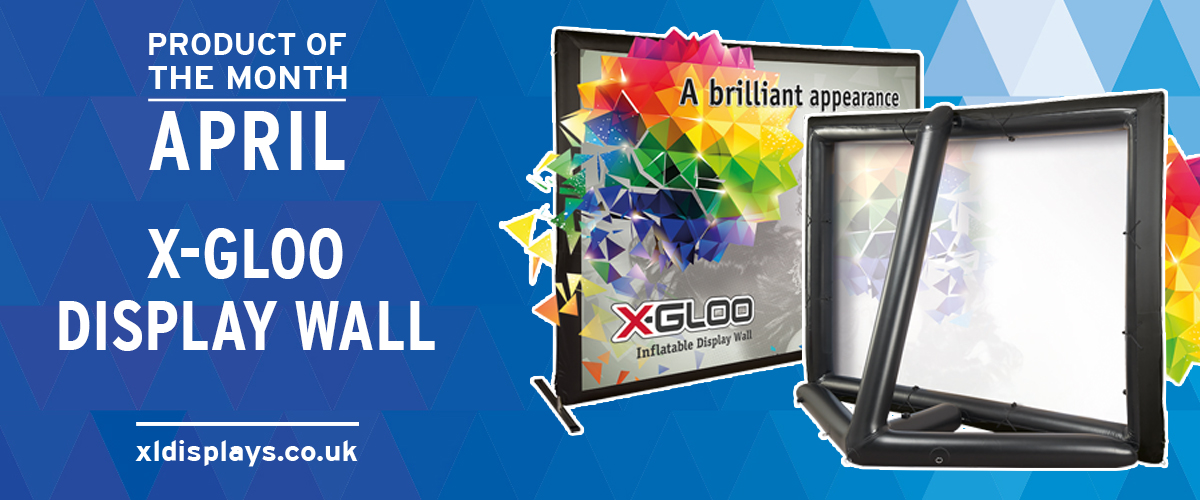 Product of the Month: X-GLOO Display Wall
