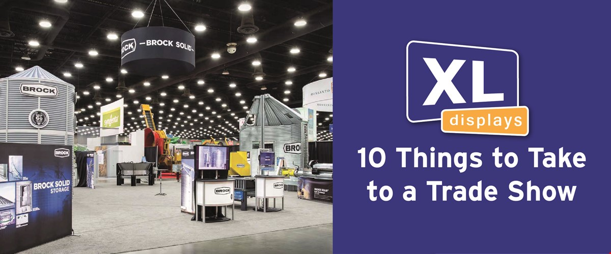 10 Things to Take to a Trade Show
