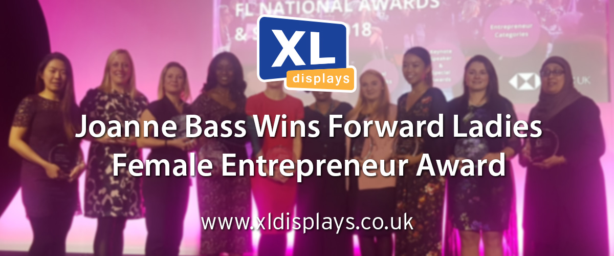 Joanne Bass Wins Forward Ladies Female Entrepreneur Award