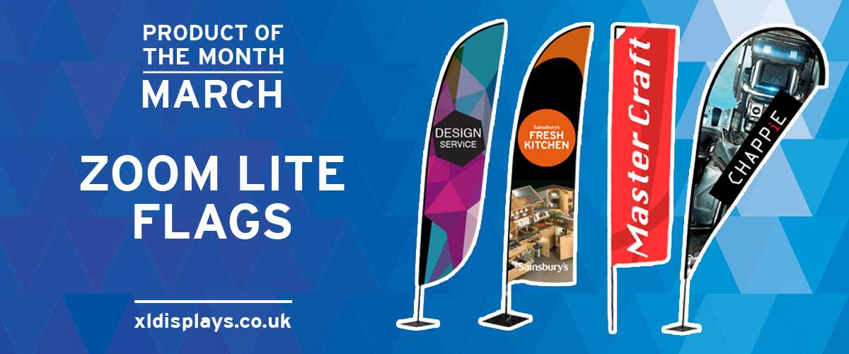 Product of the Month: Zoom Lite Flags
