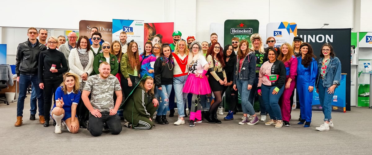 XL Displays Raises Over £114 For Children In Need