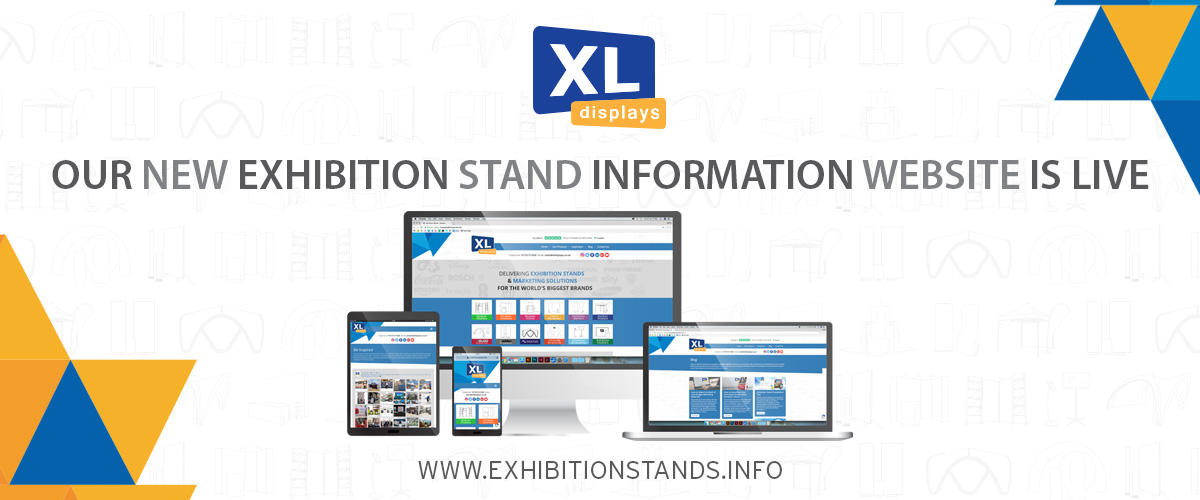 XL Displays Launches Brand New Exhibition Stand Information Website