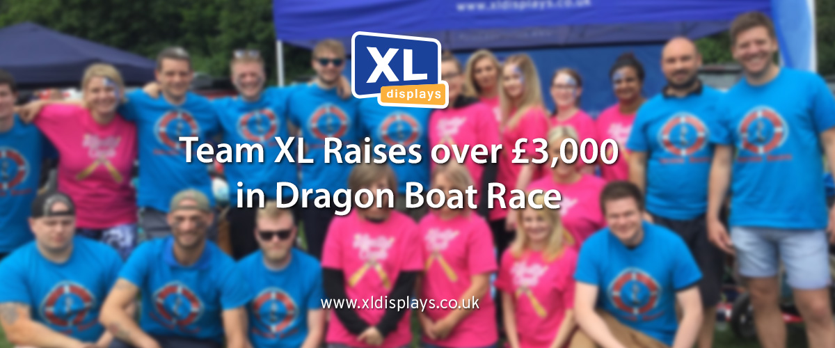 Team XL Raises over £3,000 in Dragon Boat Race