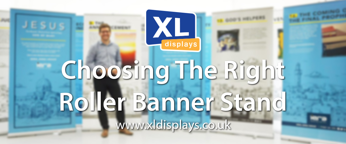Choosing The Right Roller Banner Stand
