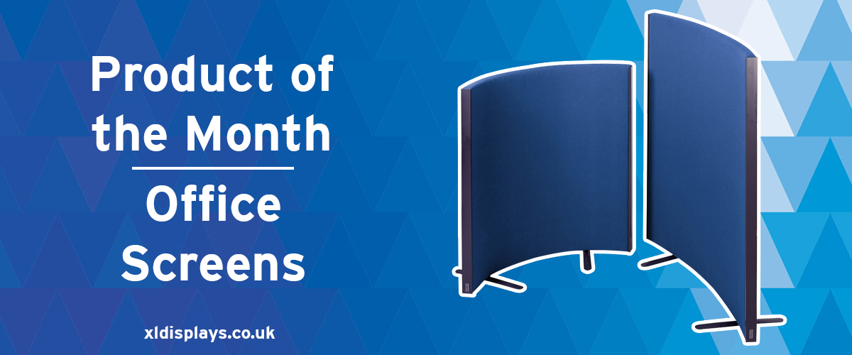 Product of the Month: Premium Acoustic Office Screens