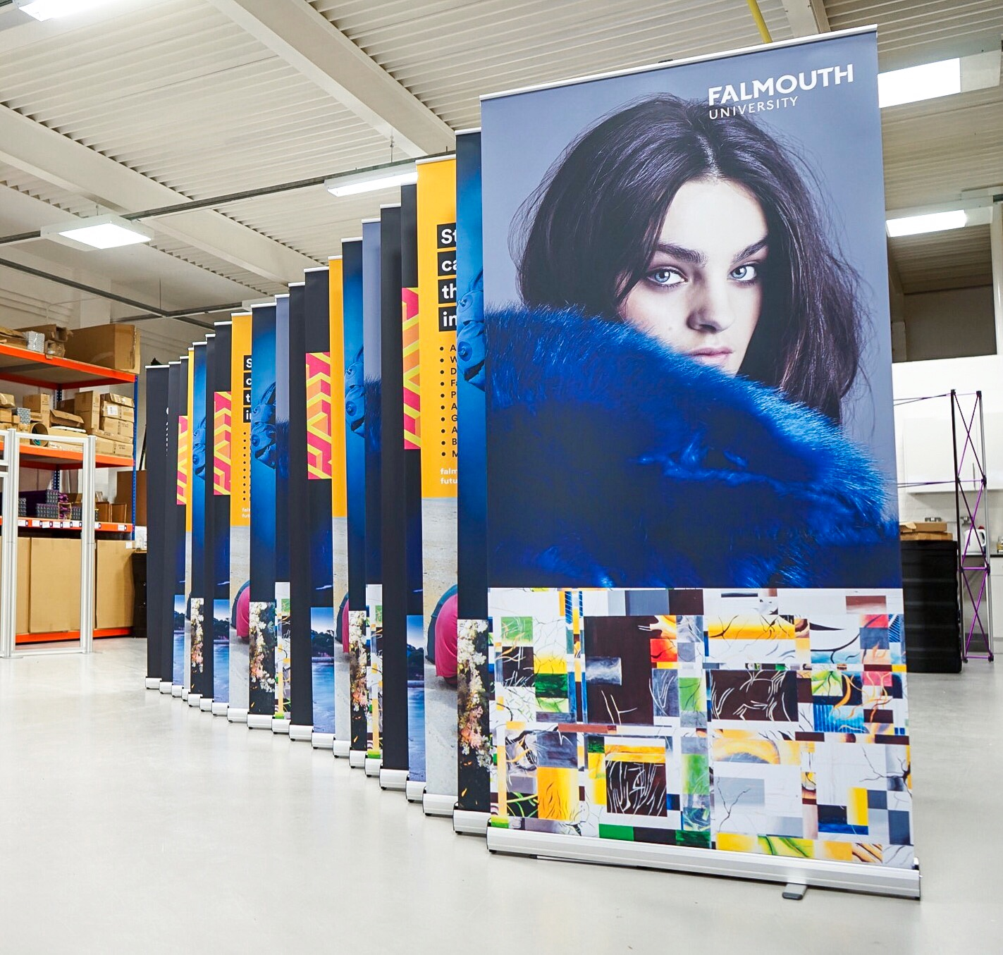 Exhibition Pull Up Banners