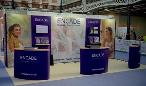 Interactive Linked Pop Up Exhibition Stand by XL Displays