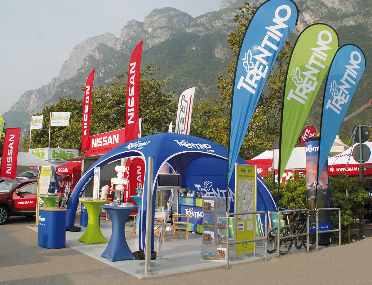 Custom Outdoor Exhibition Stand