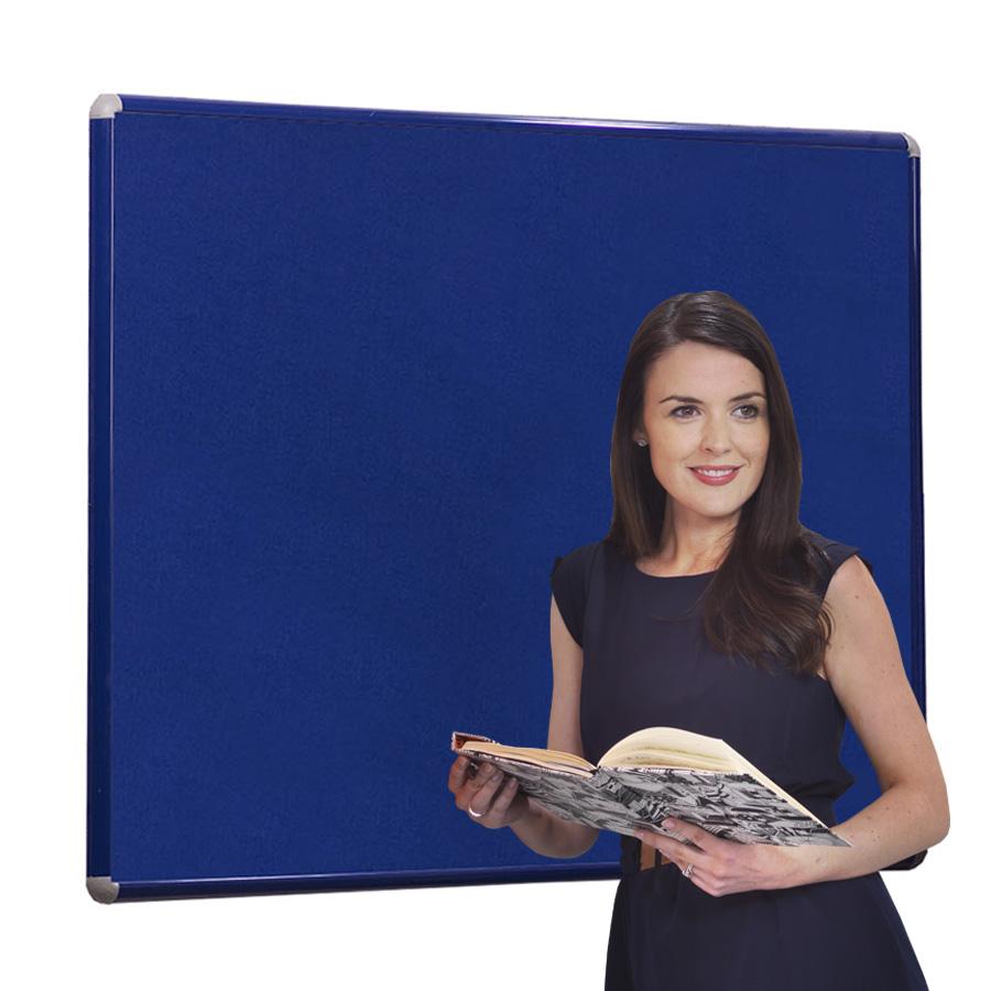 SmartShield FlameShield Premium Aluminium Framed Noticeboard