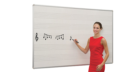 White Boards with Markings