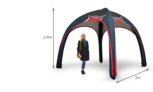 X-Gloo Event Tent 3x3