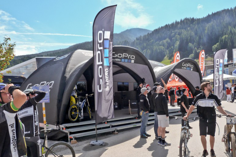 Go Pro X GLOO Event Tent