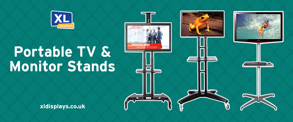 Portable TV and Monitor Stands